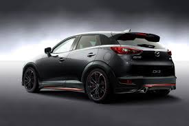 mazda cx3 mazda unveils racing concepts cx 3 for tokyo auto salon
