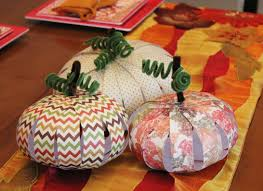 thanksgiving centerpieces paper pumpkin craft for kids super