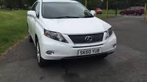 lexus rx 350 se l review white lexus rx450h 3 5 hybrid se l 4x4 4wd auto sat nav rear cam