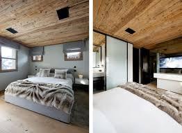 chambre avec lambris blanc plafond bois blanc bardage mtallique plafond bois terrasse dallage