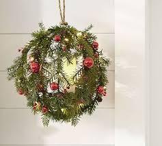 Pottery Barn Evergreen Walk 52 Best Decor U0026 Pillows U003e Wreaths Garlands U0026 Trees Images On