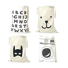 cute laundry bags laundry storage bags free ship cute baby toys storage canvas bags