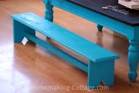 child bench plans make a kid s chalkboard table with benches homemaking cottage