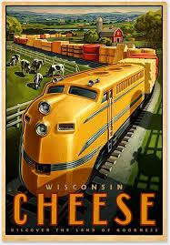 Wisconsin travel tips images 49 best railroad pinups and posters images jpg