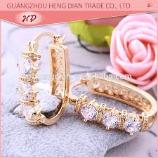 anting emas 24 karat 2017 desain terbaru grosir perhiasan dubai 18 karat emas anting