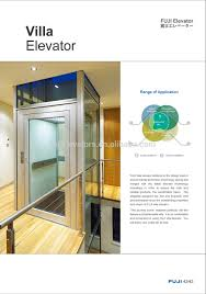 fuji glass residential elevator for homes buy glass residential