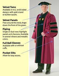 doctoral graduation gown the phd gown and doctoral robe by caps and gowns direct