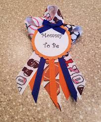 to be corsage baby shower ribbon for decorations baby ideas