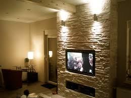 Beleuchtung Wohnzimmer Fernseher Fernseher Wand Stein Ziakia U2013 Ragopige Info