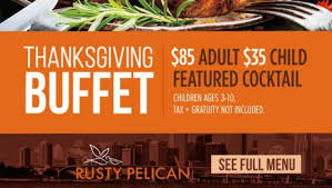 thanksgiving at the pelican pelican promotional