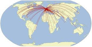 Delta Airlines Route Map by Airline Route Maps James U0027 Geo Blog