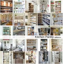 Kitchen Pantry Ideas by Kitchen Pantry Organization Ideas Buddyberries Com