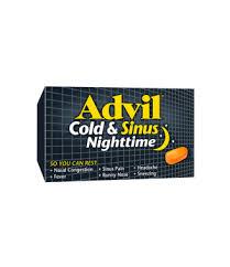 Headache Every Night Before Bed Advil Cold U0026 Sinus Nighttime Advil Canada