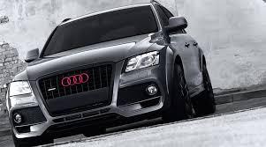Audi Q5 White - audi q5 receives wide body from khan design