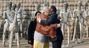 Rock Garden Of Chandigarh Hollande Modi Visit Rock Garden In Chandigarh Bw Businessworld