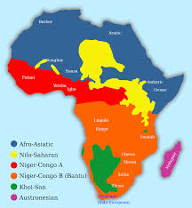 Indo European Language Map by Africa Languages Of Africa