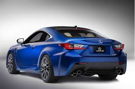 lexus rc f exhaust lexus rc f c w with trademark 4 exhausts tyresmoke
