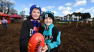 live ballarat comes alive for afl the border mail