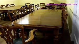ra 3240 8ft antique victorian dining table c1860 u0026 8 chairs wmv