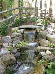 simple brilliant backyard waterfall pond diy backyard pond