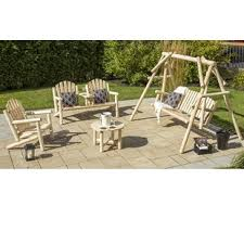 Patio Furniture Without Cushions Cushionless Conversation Sets You Ll Wayfair Ca
