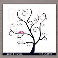 thumbprint wedding tree wedding inspiration pinterest copy