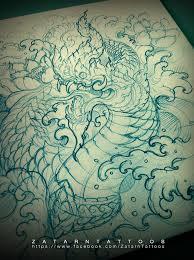 Naga Tattoo Thailand   pin by zatarn eiei on tattoo thaistyle 2015 pinterest thailand