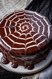 spiderweb cake recipe u2014delish com