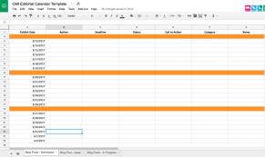 Editorial Calendar Template Excel Editorial Calendar Templates
