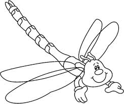 best printable damselfly insect coloring books for kids
