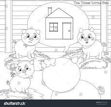 pigs 2 house stock vector 601070936 shutterstock