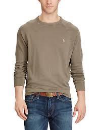 cotton spa terry sweatshirt polo ralph lauren sweatshirts