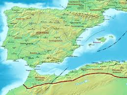 Spain Map Quiz by File Roman Spain Ad 400 Png Wikimedia Commons
