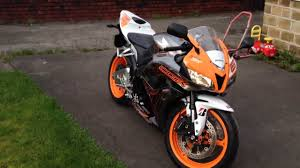 honda cbr 2011 honda cbr600rr b 2011 electro limited edition uk orange youtube