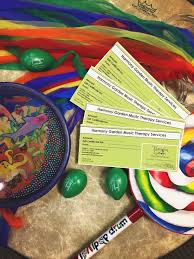 gift certificates for the holidays harmony garden music therapy