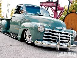 Old Ford Truck Bumpers - 1952 chevrolet truck lowrider magazine