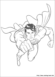superman coloring picture coloring kid