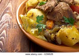 cuisine basma basma stew farm style with tender potatoes and
