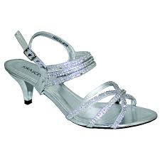 wedding shoes sandals silver sparkly diamante strappy mid heeled sandals weddingshoes
