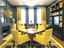 Window Treatments For Bay Windows In Dining Rooms Adorable 20 Yellow Dining Room Ideas Decorating Design Of Best 25