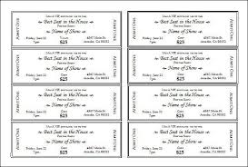 numbered tickets template how to generate sequentially numbered