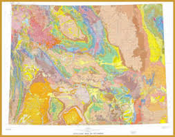 wy map geologic map of wyoming department of geology and geophysics