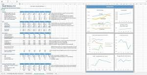 startup kpi dashboard excel templates easy downloads eloquens