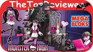 mega bloks monster high draculaura u0027s vamptastic room lego building