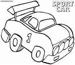 toy car coloring sheets alltoys for
