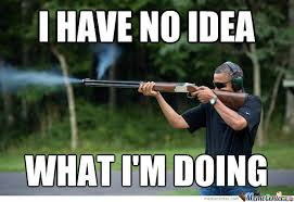 Obama Shooting Meme - obama skeet shooting photo by bakoahmed meme center