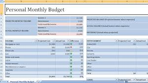 Excel Personal Budget Template Excel Most Effective Uses At Home And For Families Software