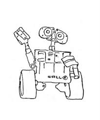 walle coloring pages cute cartoon wallpaper