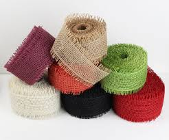 burlap ribbon wholesale burlap ribbon from burlapfabric
