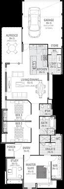 long house floor plans 10m wide house plans home designs perth vision one homes
